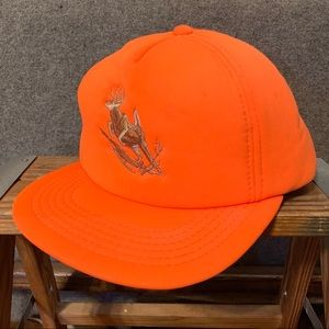 Vintage Winchester Orange Buck  Deer SnapBack Cap